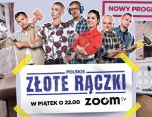 Andrzej Duda, były wizażysta orazmistrz tai- chi wnajnowszej produkcji Zoom TV. Premiera programu Polskie złote rączki już 1  października